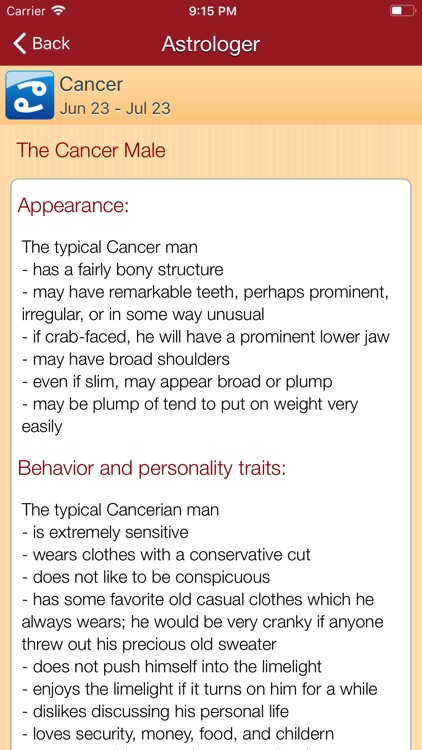 Astrologer - Zodiac Signs screenshot-3