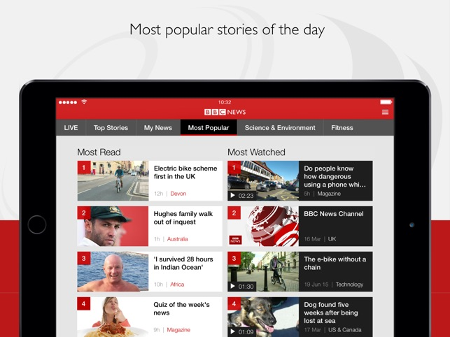 website designs BBC news