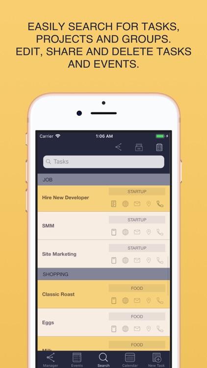 Task List - Task Manager screenshot-3