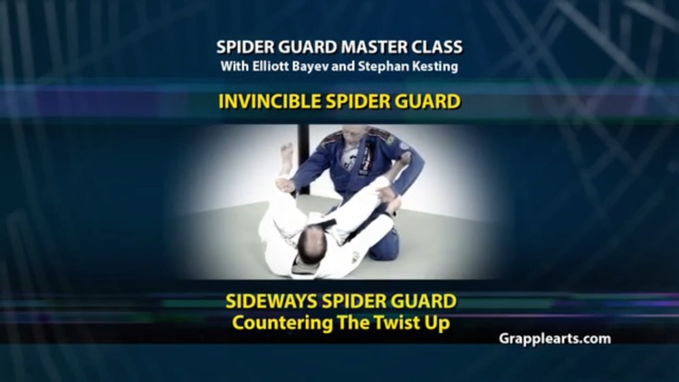 BJJ Spider Guard Vol 5 screenshot-0