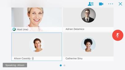 Cisco Webex Meetings screenshot four