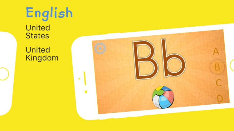 Kids' First English Alphabet screenshot-1