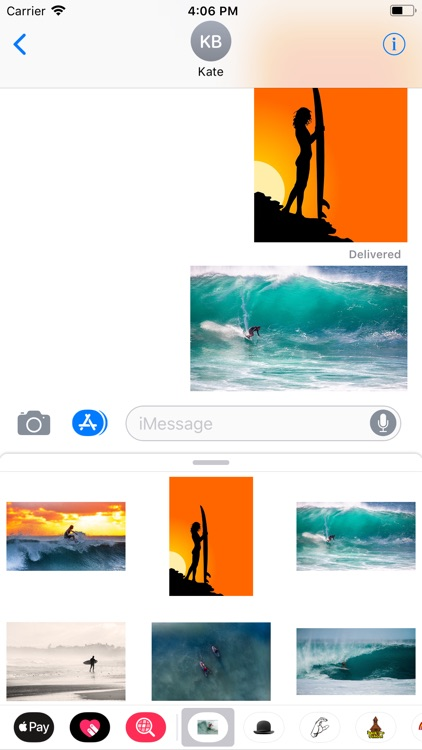 Surfing Sticker Pack screenshot-5