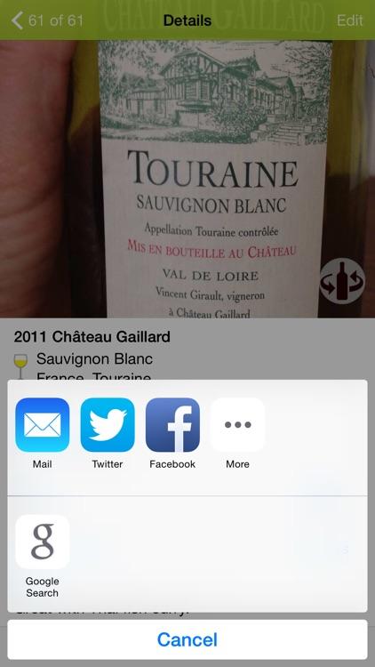 Wines - wine notes screenshot-3