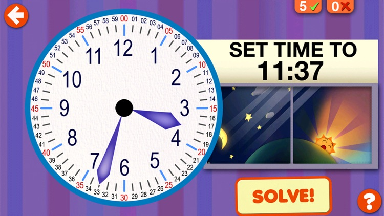 Interactive Telling Time screenshot-2