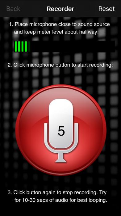 White Noise Recorder screenshot one