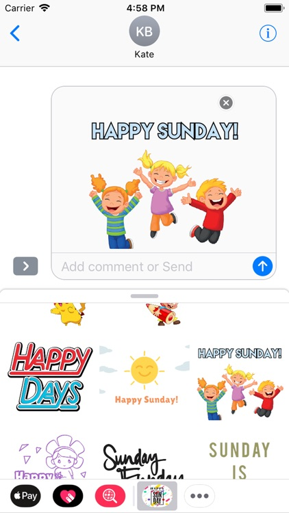 sunday stickers screenshot-6
