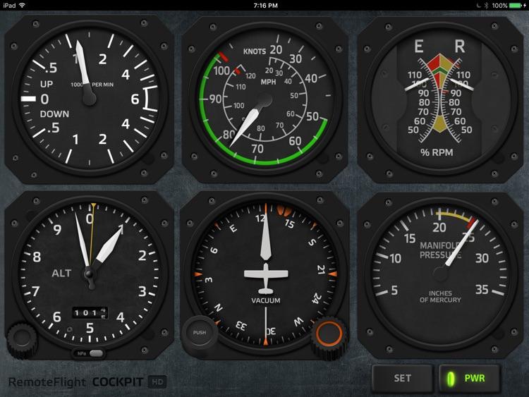 RemoteFlight COCKPIT HD screenshot-3