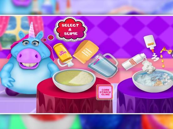 Mr. Fat Unicorn Slime Making screenshot 5