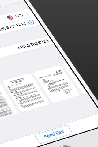Fax from iPhone. Send Fax App screenshot 2