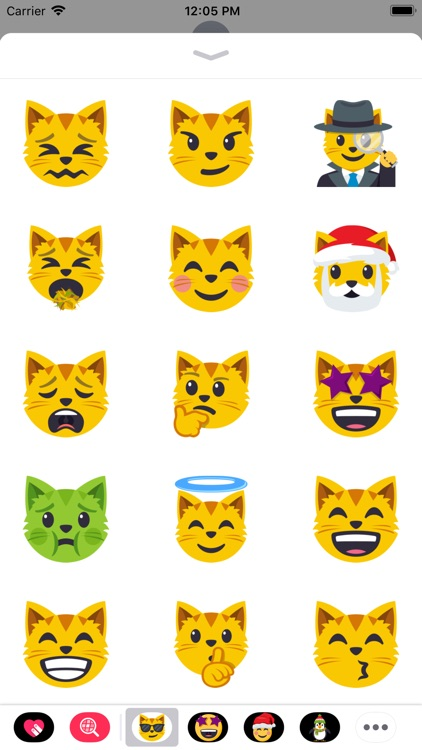 Cat Themed Emoji: by EmojiOne