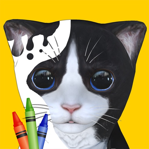 Paint My Cat - Color and Play