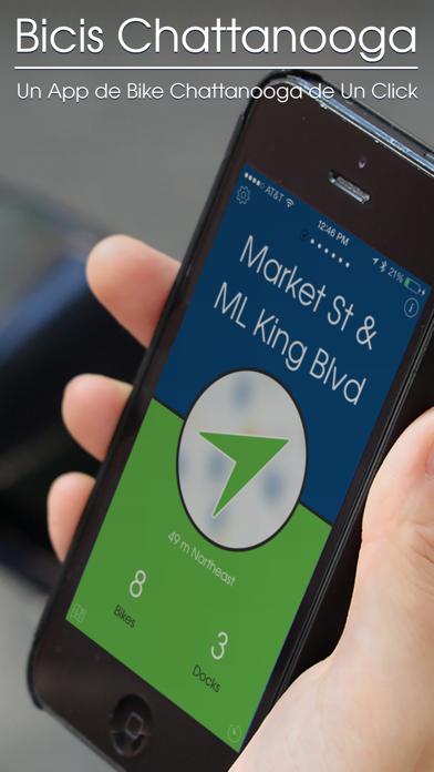 Bicis Chattanooga — Un App Bike Share de Un ClickCaptura de pantalla de1