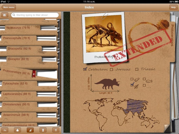 Dinosaur Book HD Lite: iDinobook screenshot-4