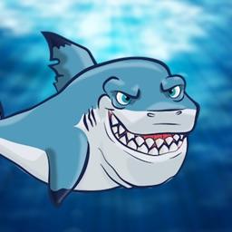 Dash Shark in Hungry Fish Tank