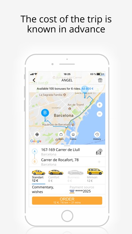 Angel - taxi booking online screenshot-3