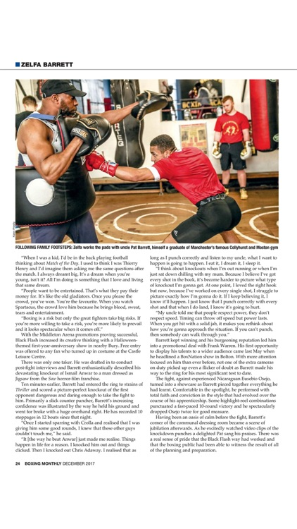 Boxing Monthly Magazine - The boxing magazine for fight fans around the world screenshot-4