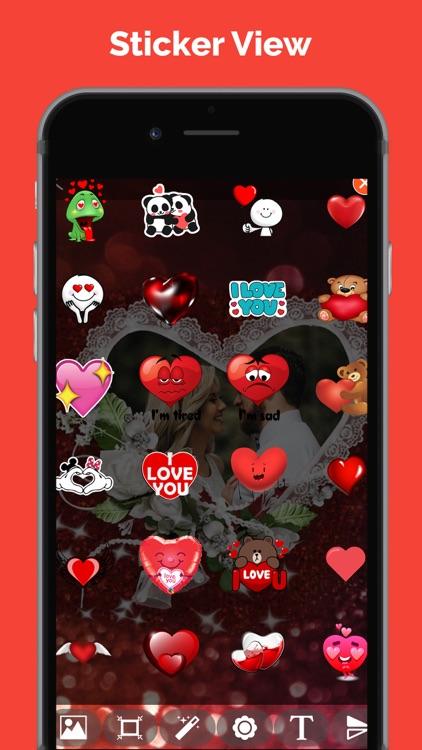 Love Photo Frames: Love Cards screenshot-3