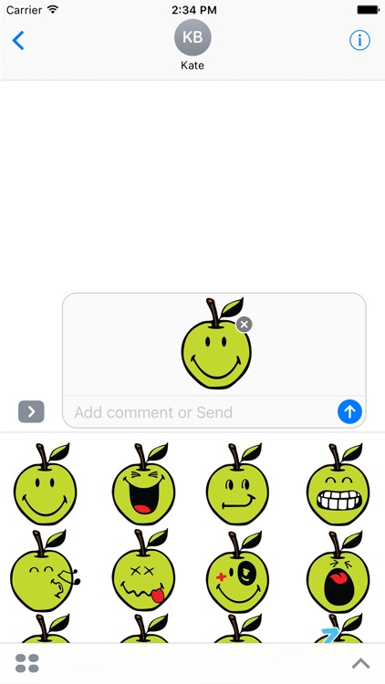 Smiley Apple Pack