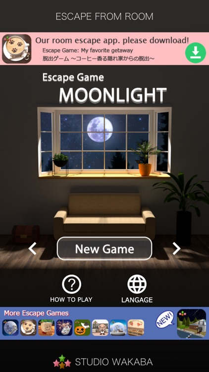 Room Escape Game: MOONLIGHT