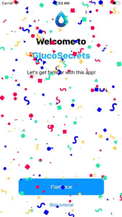 GlucoSecrets screenshot-0