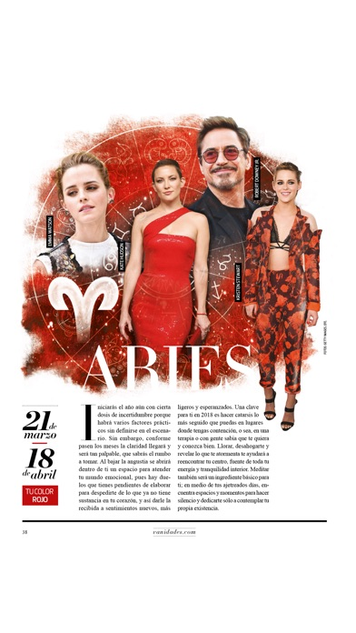 Screenshot for VANIDADES USA Revista. in United States App Store