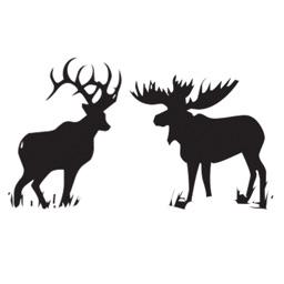Animals silhouettes - siluette