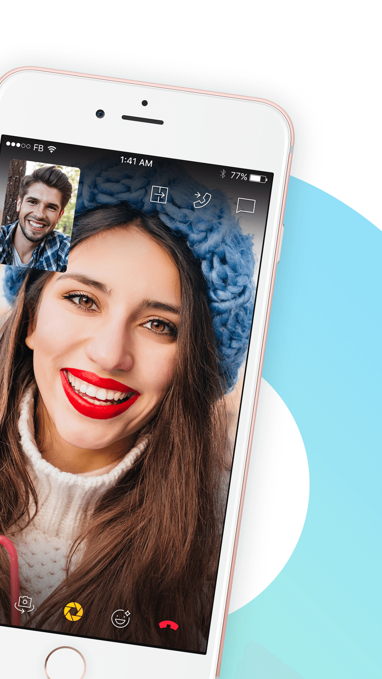 YeeCall, HD Voice & Video Call Screenshot
