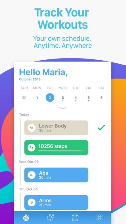 Bliss Fit - Home & Gym Workout screenshot-3