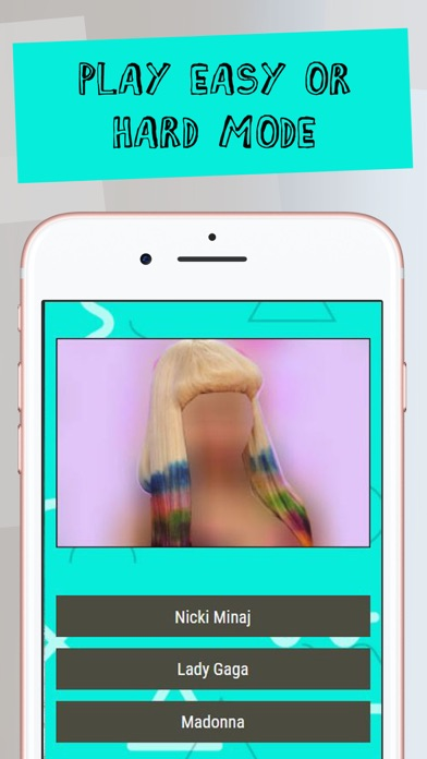 Guess The Celebrity Hairstyle screenshot three