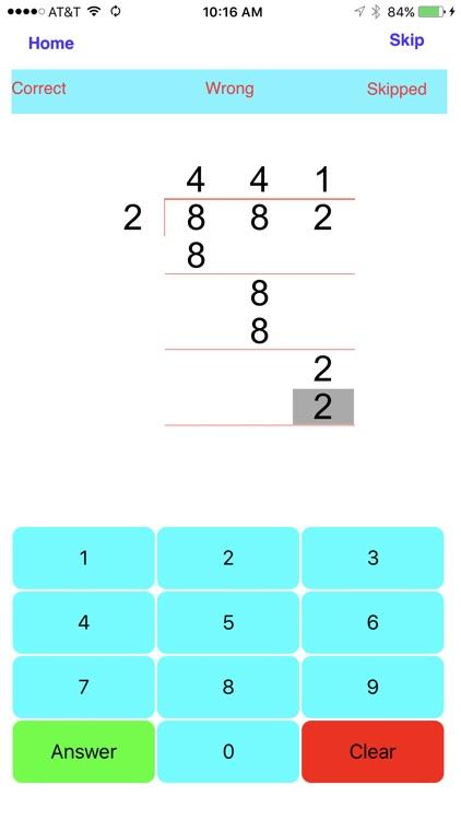 Division - 1, 2, 3, 4 digit Divisions screenshot-3