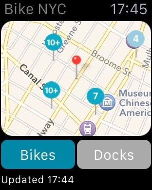 Bike NYC - CitiBike Map   App Price Drops Citibikes Map on