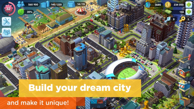 SimCity BuildIt screenshot-0