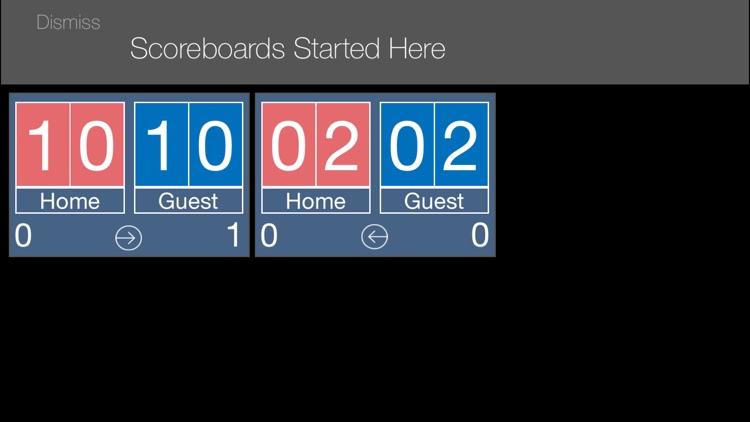 VB Scoreboard
