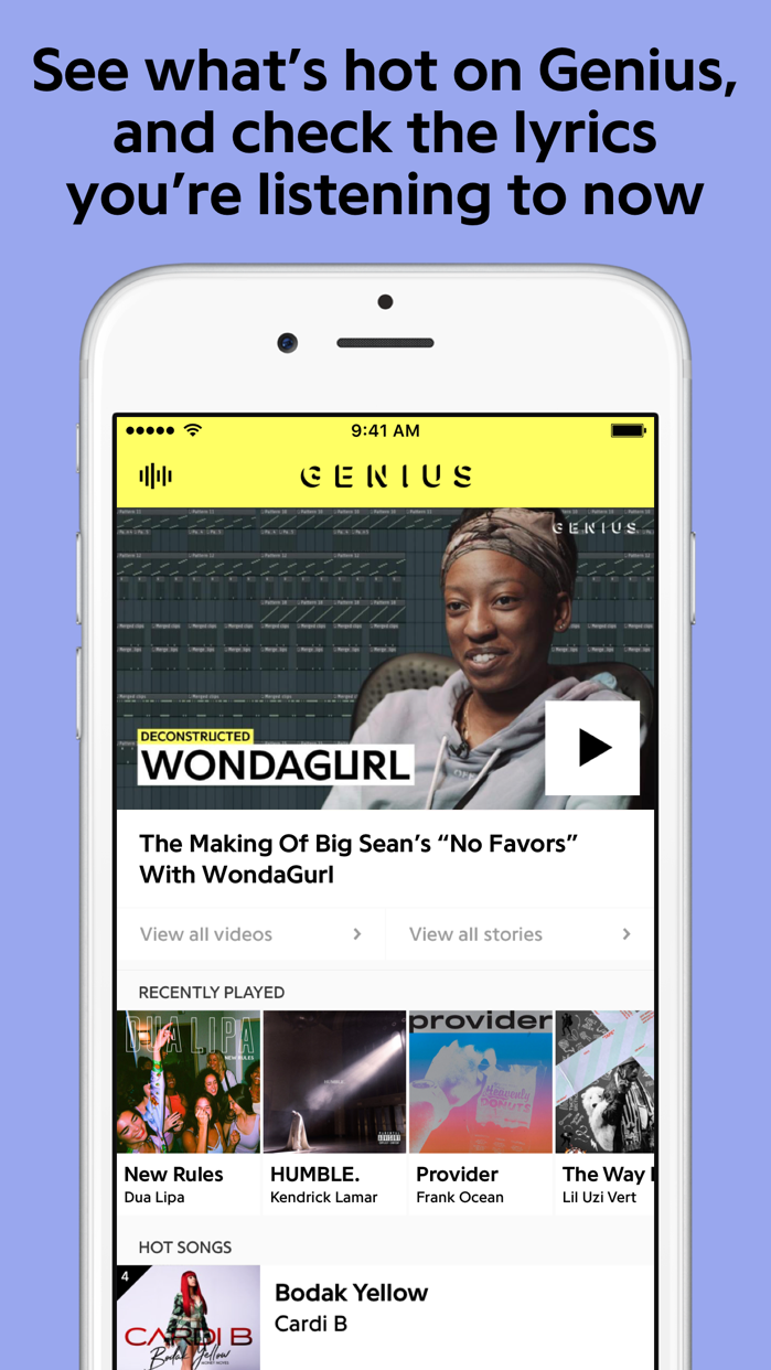 Genius: Song Lyrics & More Screenshot