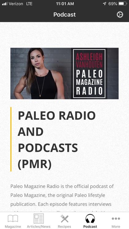Paleo Magazine screenshot-4