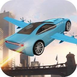 Flying Car: Night City