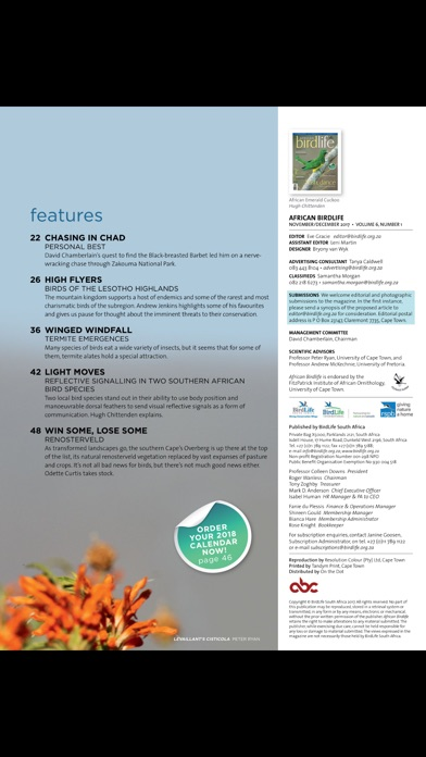 African Birdlife (Magazine) screenshot 3