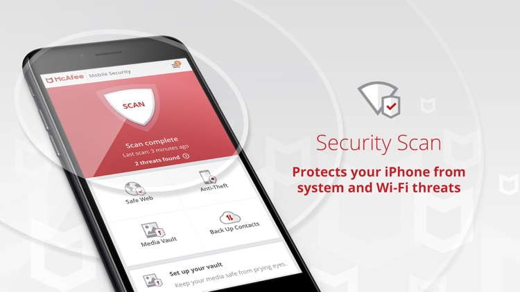 Mobile Security & Wifi Scan
