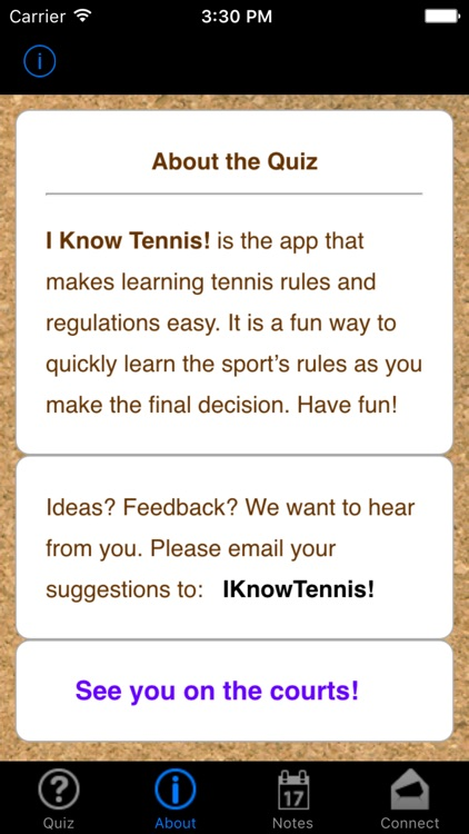 i Know Tennis! screenshot-1