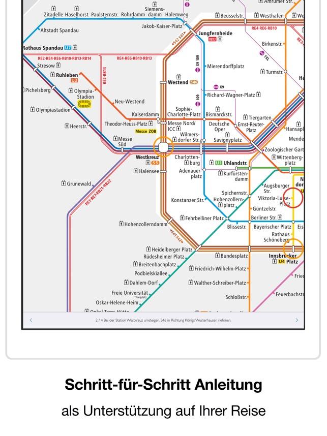Berliner U Bahn Bvg Karte Im App Store