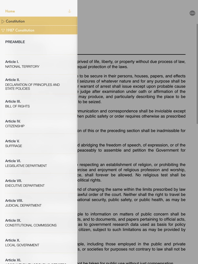LawJuan: Constitution on the App Store