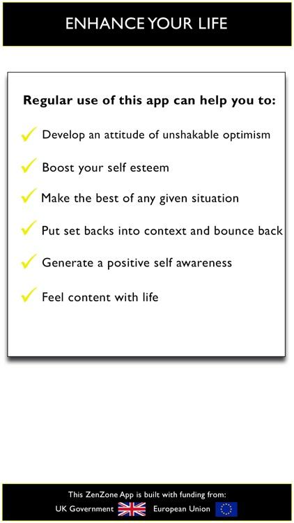 Positive attitude - feel great