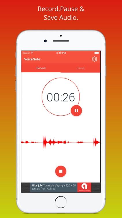 Voice Recorder - A Recorder App screenshot-3