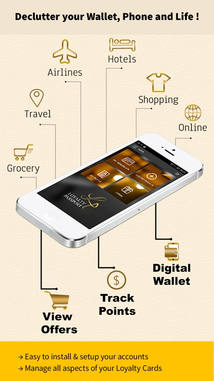 Loyalty Passport eWallet