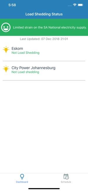 Loadshedding app on the App Store