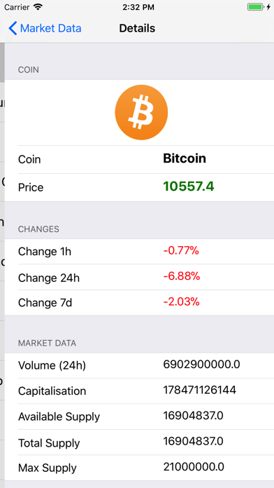 Crypto Market Informer screenshot two
