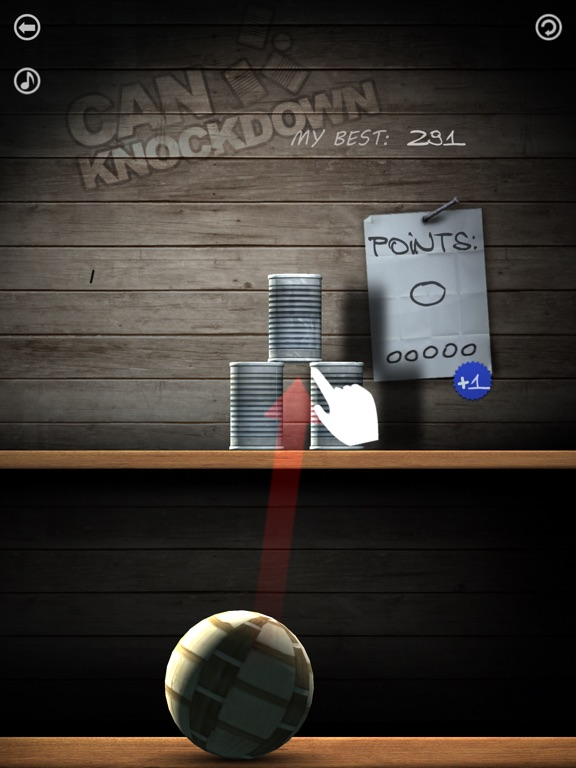 Can Knockdown на iPad
