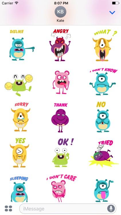 kid monster emoji 2