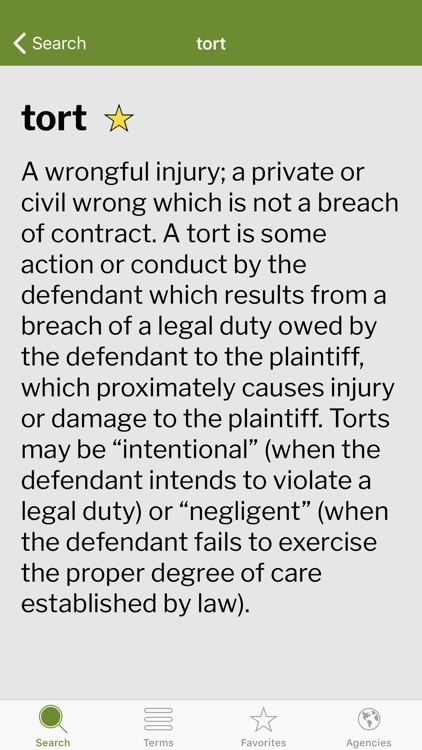 Gilbert Law Dictionary